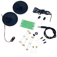 MP3 estéreo amplificador Kit de electrónica Kit de proyecto Electronics Asamblea proyecto