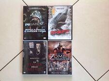 Piranha, Shark, Zombie massacre, La stanza delle farfalle - 4 DVD 10€
