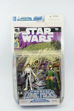 Star Wars Legacy Comic Pack #07 Princess Leia & Mandalorian Tobbi Dala Carded