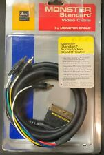 Monster Video Cable Audio/Video   Scart to Components RGB,  Composite und Audio