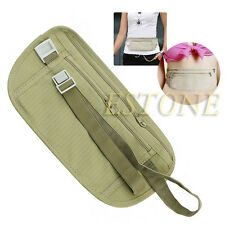 Pouch Hidden Wallet Passport Money Waist Belt Travel Bag Slim Secret Security