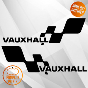 x2 Vauxhall Side decal sticker side skirt corsa astra vectra insignia sport
