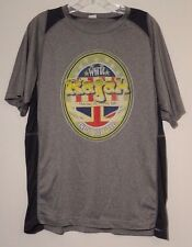 Craft Beer T-shirt Sz L India Pale Ale White Rajah Polyester Men's Size Large