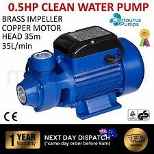 CENTAURUS Electric Peripheral Clean Water Pump Garden Rain Tank Irrigation QB60