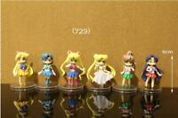 Sailor moon Anime Manga japanische Kimono Figuren Figure Figur 6er Set H:8cm