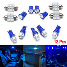 13x Auto Car Interior LED Lights Dome License Plate Lamp 12V Kit Accessories