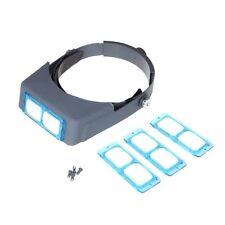 Kopfband Lupe Brillenlupe Lupengläser Kopflupe Augenglas Magnifer 1,5x bis 3,5x
