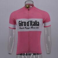 Y6Giro d'Italia Cycling Jersey Short Sleeve Retro Road Pro Clothing Racing Bike