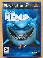 Finding Nemo PS2 Game Walt Disney Pixar Sony PlayStation 2 Based on Film Movie
