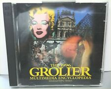 1995-96 Grolier's Multimedia Encyclopedia Windows/Mpc Version 2 Cd Set