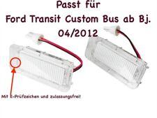 2x TOP LED SMD Kennzeichenbeleuchtung Ford Transit Custom Bus ab Bj. 04/12 /KS1/