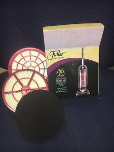 FULLER Brush Jiffy Genuine Filter Set HEPA, Media Filter, Secondary Filter 1205B