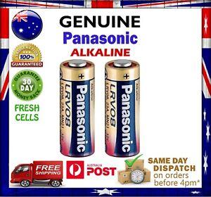 Panasonic 23A 23AE MN21 23 A23 23GA 12V Remote Control Alkaline Battery GENUINE