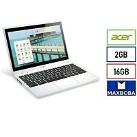 ACER CHROMEBOOK C720P 11.6 Touch Screen 16GB SSD 1.40 GHz 2GB RAM FOR PARTS