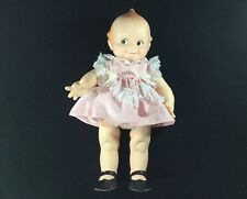 "Vintage Toy Original Cameo 15"" Kewpie Posable Doll Dated 11-7-67. Squeaker?"