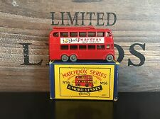 MATCHBOX LESNEY MOKO no. 56a -2 RARE versione very N. MINT b-3 BOX excellent 1958