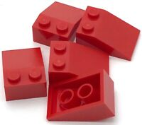 Lego 5 New Red Slope 33 3 x 2 Sloped Pieces Parts