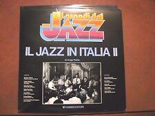 IL JAZZ IN ITALIA vol II -LP-Fabbri-Collana I GRANDI DEL JAZZ-A.Polillo 12tkrs