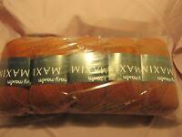 Mary Maxim Maximum Value Yarn - Color Copper, New