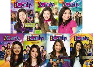 iCarly Miranda Cosgrove TV Series Complete Seasons 1-4 (1 2 3 4) DVD BUNDLE SET