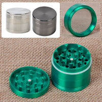 """Tobacco Spice Storage 2.0"""" Handle Mill Grinder Crusher Magnetic Aluminum Herb"""