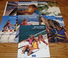 Original 2000 2001 2002 Bayliner Sales Brochure Lot of 7 00 01 02 Capri Ciera