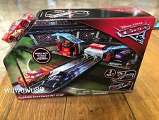 Disney Pixar's Cars 3 Florida Speedway Pit Stop Mattel Playset NEW & Sealed