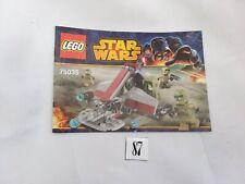 LEGO Star Wars Instruction Book Set 75035 Kashyyyk Troopers (87)