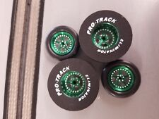 Pro Track N406B Green Stars 1 5/16 x 435 & Big O Ring Green Fronts Drag Tires