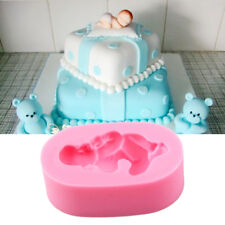 Baby Shower Silicone Fondant Cake Mould Decor Mold Chocolate Baking Sugar Tool