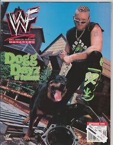 WWF Magazine September 1999 Wrestling DX Road Dogg Jesse James WWE Vintage
