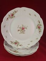 "ROSENTHAL GERMANY SANSSOUCI ROSE (WHITE NO TRIM) 3 DINNER PLATE 10"" DIAMETER"