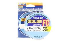 Sunligne Siglon FC Fluorocarbon Ligne 50m 24lb Diameter 0.415 mm (5914)