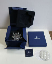 Swarovski Crystal Waterlily Candle Holder Small #11867 - New