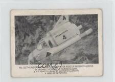 1966 #22 Thunderbird 4 on Underwater Rescue Mission Non-Sports Card 0s4