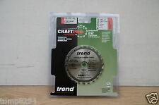 TREND 120MM 24T TCT 20MM BORE MAFELL KSS40 PLUNGE SAW BLADE CSB/12024T