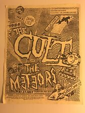 The Cult Perkins Palace Pasadena July 27 1984 Punk Concert Flyer The Meteors #03