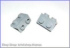 Lego 2 x  Halterung Winkel grau - 99781 - Bracket Light Bluish Gray - NEU / NEW