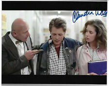 Claudia Wells Signed 8x10 Photo Autographed, Back to the Future, Jennifer Parker