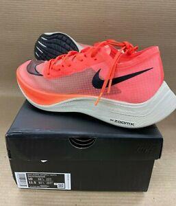 NEW Nike ZOOMX VAPORFLY NEXT% Mens 10 Womens 11.5 Running Sneaker Bright Mango