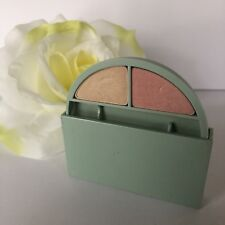 Clinique Soft-Pressed Eye Shadow Duo CHAMPAGNE / PEACH SILK .6oz- *Read*