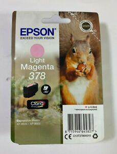 Epson 378 Light Magenta Ink Cartridge *NEW & SEALED*