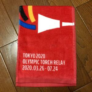 Tokyo Olympics 2020 Towel No prefecture name Torch relay not for sale