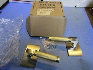 1 – EMTEK-510LS-KN Passage Door Lever Set (Dummy Set). NEW in Box.