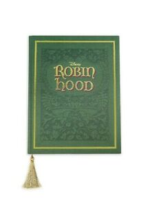 Disney Archives Robin Hood Storybook Replica Prop Journal