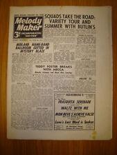 MELODY MAKER 1946 #653 JAZZ SWING MUSIC SQUADRONAIRS
