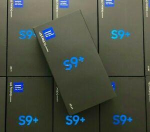 Samsung Galaxy S9+ Plus Black 64GB G965U1 AT&T Sprint Verizon Factory Unlocked