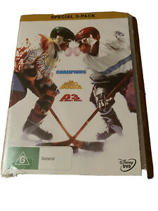The Mighty Ducks DVD Special 3 Disk Box Set 3 Disks Region 1 UNOPENED
