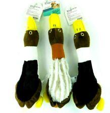 Pet Trends Dog Stuffed Squeaker Toy Lot of 3 Ducks