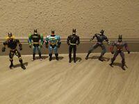 Lot Of 6 Batman Figures-Mixed Lot Batman Figures-Kenner/DC Comics